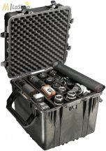 Peli 0350 kocka alakú műanyag táska, védőtok, fotós táska (görgő külön rendelhető), Belső: 508x508x508 mm
