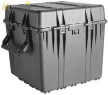 Peli Case 0370 kocka alakú műanyag védőtáska, védőtok, fotós táska (görgő külön rendelhető), választható felszereltséggel  Belső: 610x610x610 mm