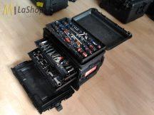 Peli Case 0450 GEN2 gurulós műanyag védőtáska, védőtok, szerszámos táska - kétféle fiókvariációval