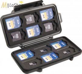 PELI 0915 SD memóriakártya tartó tok, Belső: 122x57x14 mm