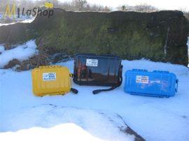 Peli Case 1050 Microcase műanyag tok - több színben! Belső: 16 cm x 9,4 cm x 7 cm