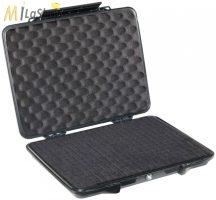 """Peli 1085 műanyag táska, védőtok Tábla PC/Tablet, Apple iPad, Netbook, 14"""" col Laptop, e-Pad, külső merevlemez, stb.. részére, Belső: 363x263x50 mm"""