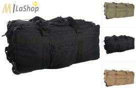 Mil-Tec kerekes - gurulós utazótáska / hátizsák - több színben - kb.118 l