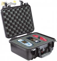 Peli Case 1400 műanyag védőtáska, védőtok - több színben, választható felszereltséggel Belső: 300x225x132 mm