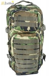Mil-Tec taktikai hátizsák 20 literes, Woodland/terepszínű