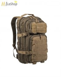MIL-TEC RANGER taktikai hátizsák zöld/barna 20 l
