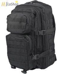 Mil-Tec taktikai hátizsák 36 literes, fekete