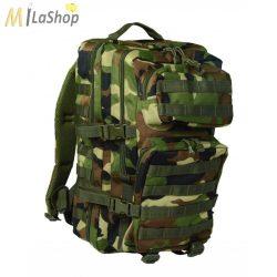 Mil-Tec taktikai hátizsák 36 literes, Woodland/terepszínű