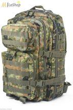 Mil-Tec taktikai hátizsák 36 literes, Flecktarn/terepszínű