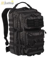 Mil-Tec hátizsák TACTICAL BLACK színben - 36 l