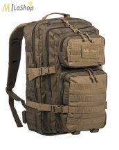 MIL-TEC RANGER taktikai hátizsák zöld/coyote barna 36 l
