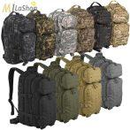 Mil-Tec Assault taktikai hátizsák lézer vágott molle rendszerrel 20 l - több színben (egyszínűek)