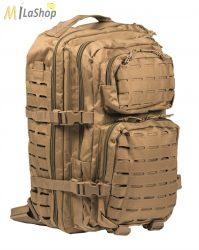 Mil-Tec Assault hátizsák- lézervágott molle rendszerrel - 36l, több színben (egyszínűek)