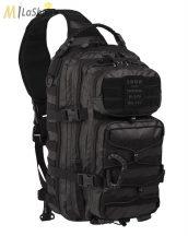 Mil-Tec egypántos/félvállas hátizsák TACTICAL BLACK színben - 29 l