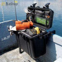 Peli 1430 műanyag táska, védőtok, fotós táska, választható felszereltséggel Belső: 345x146x297 mm