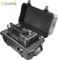 Peli 1460 AALG táska szivacsos, Peli 9430 térvilágító lámpa számára kivágva