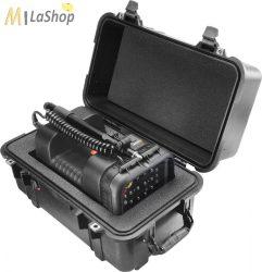 Peli Case 1460 AALG védőtáska szivacsos, Peli 9430 térvilágító lámpa számára kivágva