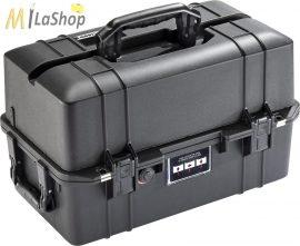 Peli AIR CASE 1465 műanyag védőtáska, védőtok - fekete színben, választható felszereltséggel Belső: 473 x 254 x 278 mm