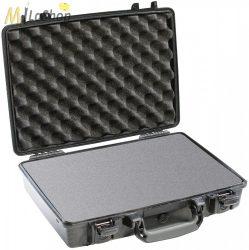"""Peli Case 1470 műanyag védőtáska, tok 13"""" colos laptophoz/notebookhoz (vállpánt nélkül), választható felszereltséggel Belső: 397x265x95 mm"""