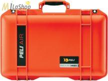Peli AIR CASE 1485 műanyag táska, védőtok - narancs, ezüst, sárga színben, választható felszereltséggel Belső: 451x259x156 mm