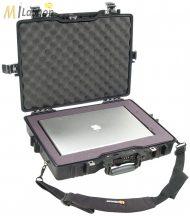 """Peli Case 1495 műanyag védőtáska, tok 17"""" colos laptophoz/notebookhoz - szivacsos vagy üres. Belső: 479x333x97 mm"""