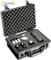 Peli Case 1500 műanyag védőtáska, védőtok - több színben, választható felszereltséggel Belső: 426x284x156 mm