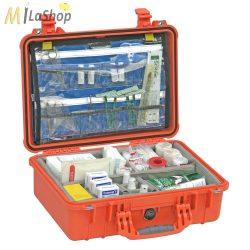 Peli Case 1500 EMS (orvosi) betéttel, műanyag védőtáska, védőtok - Belső: 426x284x156 mm