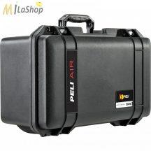 Peli AIR CASE 1506 műanyag védőtáska, védőtok, választható felszereltséggel Belső: 475 × 239 × 198 mm
