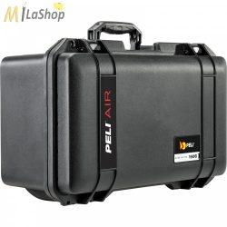 Peli AIR CASE 1506 műanyag táska, védőtok, választható felszereltséggel Belső: 475 × 239 × 198 mm