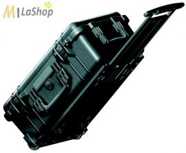 Peli Case 1510 gurulós műanyag védőtáska, Carry On bőrönd - több színben, választható felszereltséggel Belső: 502x280x193 mm
