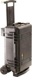 Peli Case 1510M gurulós műanyag védőtáska, védőtok terepre, választható felszereltséggel  Belső: 501x279x193 mm