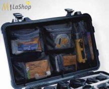 Hálós, rekeszes betét a táska belső fedelébe Peli 1510 táskához