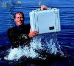 Peli 1520 ütésálló, vízálló műanyag táska, védőtok, fotós táska - fekete színben, választható felszereltséggel Belső: 454x324x172 mm