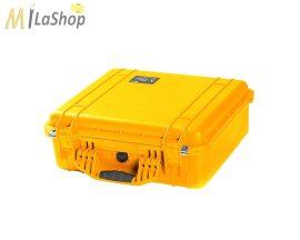 Peli Case 1520 ütésálló, vízálló műanyag védőtáska, védőtok, fotós táska - több színben, választható felszereltséggel Belső: 454x324x172 mm