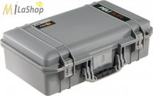 Peli AIR CASE 1525 műanyag táska, védőtok - narancs, ezüst, sárga színben, választható felszereltséggel Belső: 521x287x171 mm