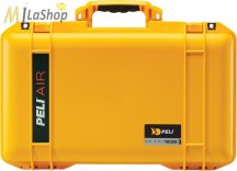 Peli AIR CASE 1535 gurulós műanyag táska, védőtok - narancs, ezüst, sárga színben, választható felszereltséggel Belső: 518x284x183 mm