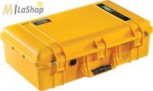 Peli AIR CASE 1555 műanyag táska, védőtok - narancs, ezüst, sárga színben, választható felszereltséggel Belső: 584x324x191 mm