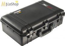 Peli AIR CASE 1555 műanyag táska, védőtok - fekete színben, választható felszereltséggel Belső: 584x324x191 mm