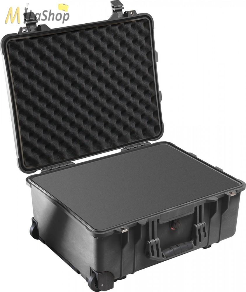 6a3f614de2a3 Peli 1560 gurulós műanyag táska védőtok, fotós táska - több színben,  választható felszereltséggel Belső: 518x392x229 mm