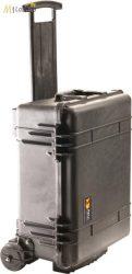 Peli 1560M gurulós műanyag táska, védőtok terepre, választható felszereltséggel  Belső: 517x392x229 mm