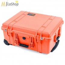 Peli 1560 gurulós műanyag táska védőtok, fotós táska - több színben, választható felszereltséggel Belső: 518x392x229 mm