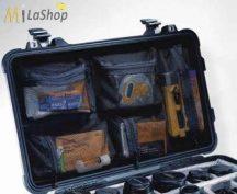 Hálós, rekeszes betét a táska belső fedelébe Peli 1560 táskához