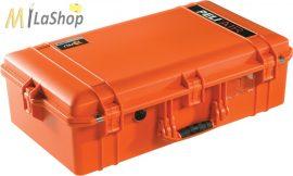 Peli AIR CASE 1605 műanyag védőtáska, védőtok - narancs, citromsárga színben, választható felszereltséggel Belső: 660x356x213 mm