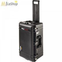 Peli AIR CASE 1606 gurulós, kerekes műanyag védőtáska, védőtok - fekete színben, választható felszereltséggel Belső: 623 x 312 x 260 mm