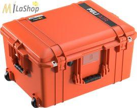 Peli AIR CASE 1607 gurulós műanyag táska, védőtok - narancs, ezüst, sárga színben, választható felszereltséggel Belső: 535x402x295 mm