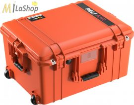 Peli AIR CASE 1607 gurulós műanyag védőtáska, védőtok - narancs, ezüst, sárga színben, választható felszereltséggel Belső: 535x402x295 mm