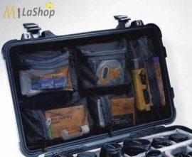 Hálós, rekeszes betét a táska belső fedelébe Peli 1600_1610_1620_1630_1650_1660_1690 táskához