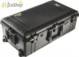 Peli AIR CASE 1615 gurulós műanyag táska, védőtok, fekete színben, választható felszereltséggel Belső: 752x394x238 mm