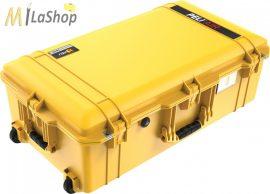 Peli AIR CASE 1615 gurulós műanyag védőtáska, védőtok, narancs és sárga színben, választható felszereltséggel Belső: 752x394x238 mm