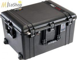 Peli AIR CASE 1637 gurulós műanyag védőtáska, védőtok - fekete színben, választható felszereltséggel Belső: 595x446x337 mm